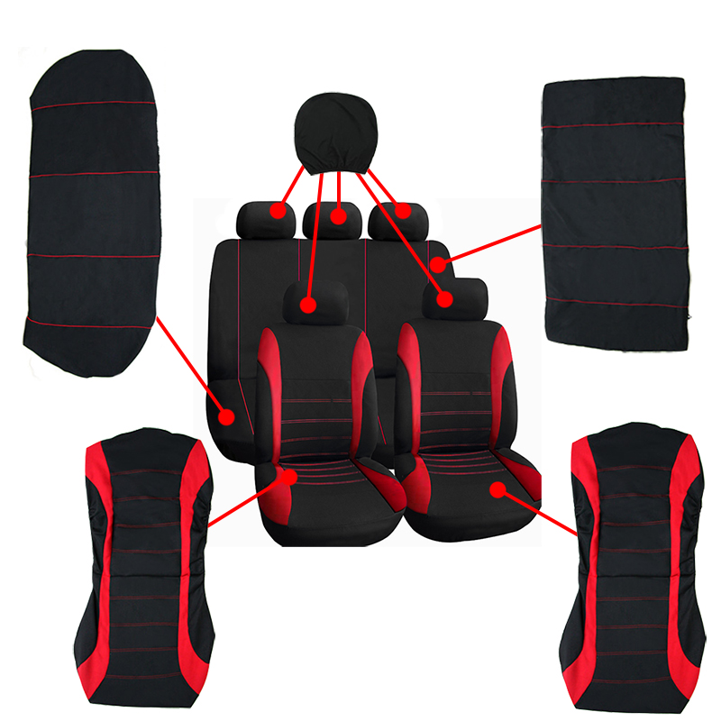 car seat cover seat covers for Toyota camry 40 50 corolla avensis 2012 2011 2010 2009 2008cushion covers auto accessories in Automobiles Seat Covers from Automobiles Motorcycles
