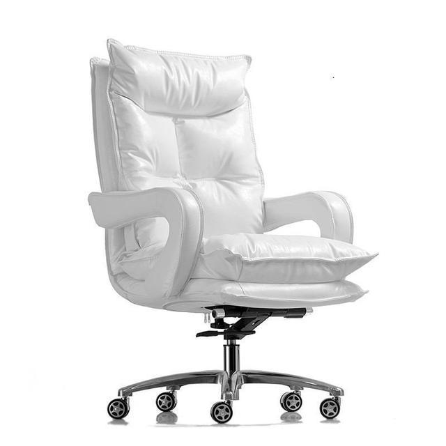 Escritorio Sillon Taburete Cadir Bureau Ufficio Sedie Fotel Biurowy Sedia Leather Office Cadeira Poltrona Silla Gaming Chair tanie tanio Meble komercyjne Krzesło biurowe Meble biurowe Skóra syntetyczna Krzesło wykonawcze winda krzesło obrotowe 125mm- 800mm