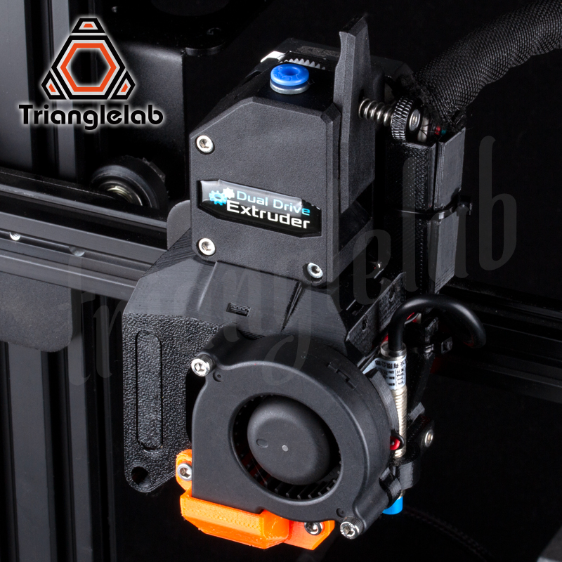 Kit de mise à niveau d'extrudeuse à entraînement Direct trianglelab DDE pour imprimante 3D Creality3D série Ender-3/CR-10 grande amélioration des performances - 3