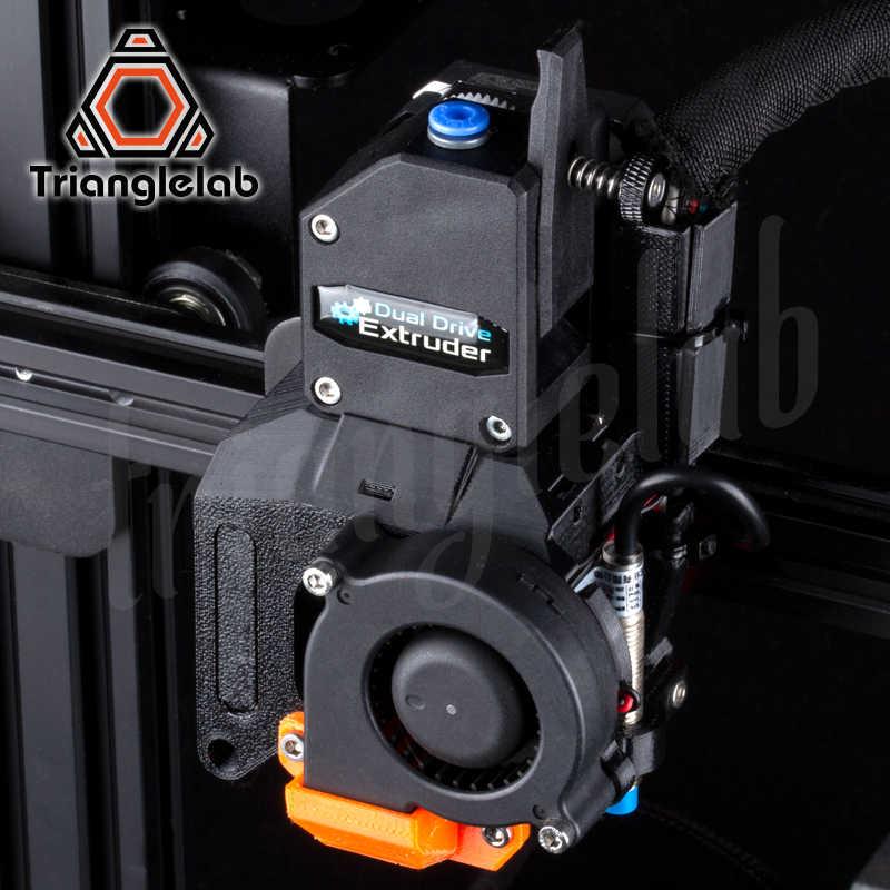Trianglelab Dde Direct Drive Extruder Upgrade Kit untuk Creality3D Ender-3/CR-10 Seri 3D Printer Besar Peningkatan Kinerja