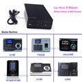 UPS para ZKTeco TX628 ZK U160 Software iclock360 VF360 5 V Mini Bateria para Gravador de Comparecimento Do Tempo Da Impressão Digital quando o Poder Off