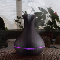 VVPEC 400ml Essential Oil Diffuser Air Humidifier Ultrasonic Humidificador Mist Maker LED Aroma Diffusor Aromatherapy