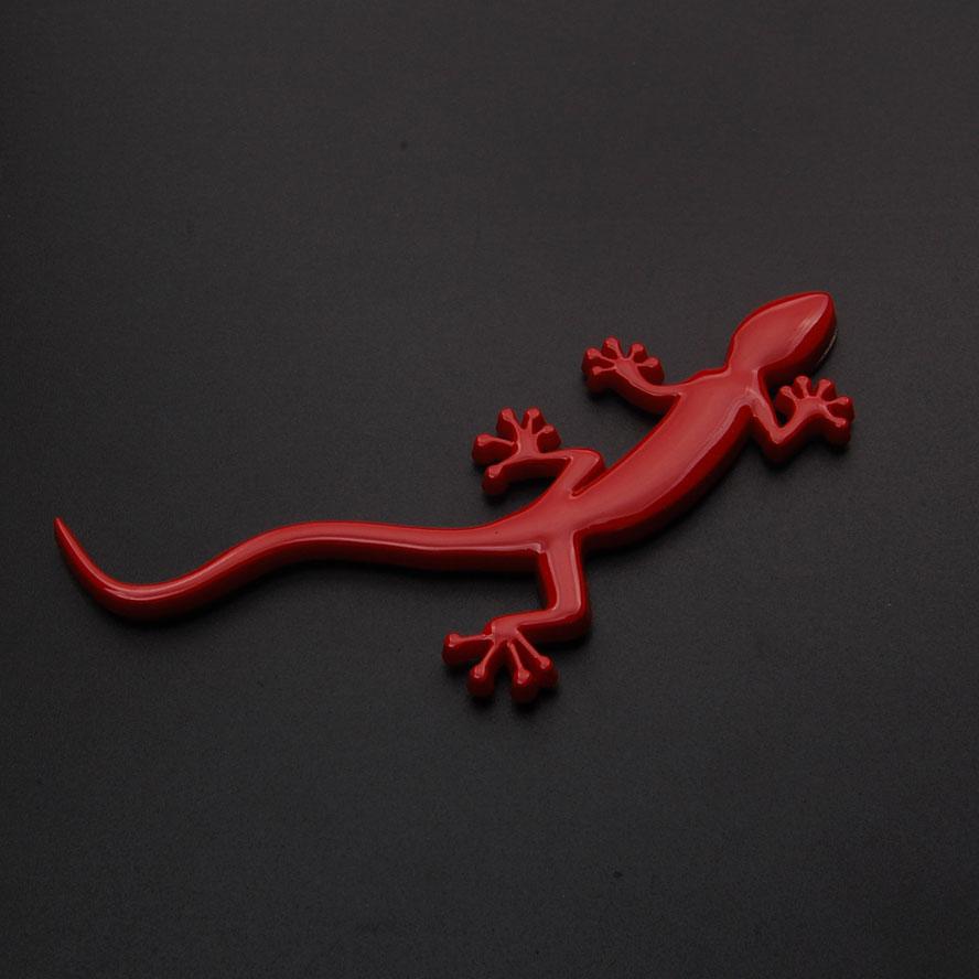 BBQ@FUKA ABS/Metal Lizard Gecko Badge 3D Emblem Solid Truck Sticker Decal Fit For Quattro A4 A3 A5 TT Q3  Car-Styling Car Covers