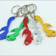 2000 шт/партия, рекламный Подарочный Брелок для ключей из алюминиевого сплава, брелок-открывашка-в форме белки