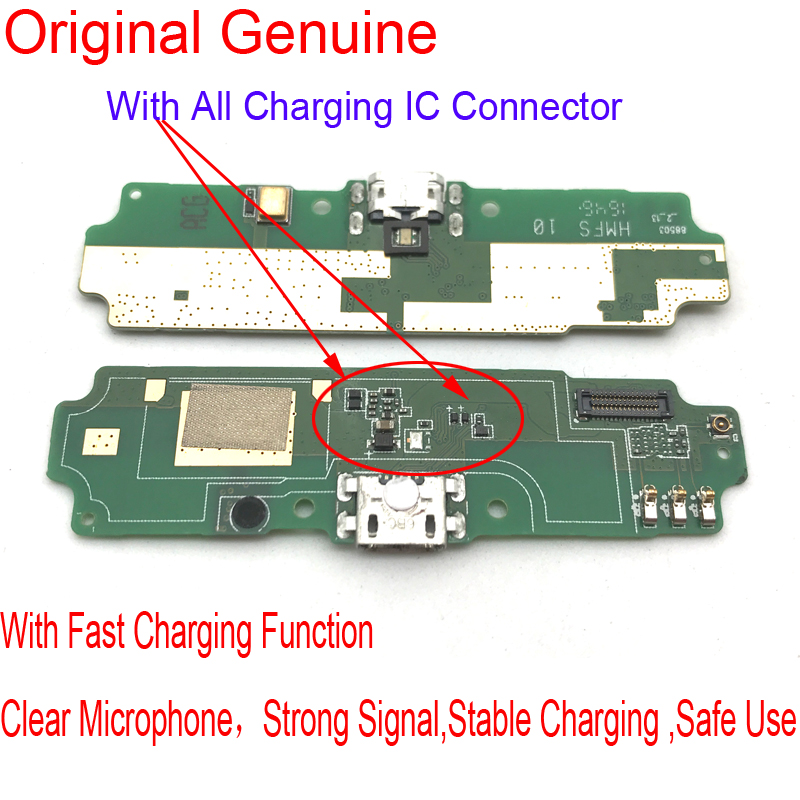 1Pcs New Micro Dock Connector Plug Charger Board For Xiaomi Redmi 4A USB Charging Port Flex Ribbon