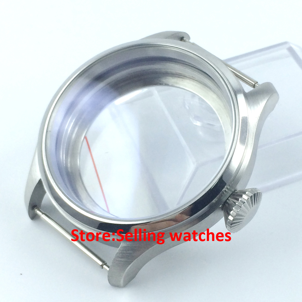 47mm stainless steel CASE fit 6497 6498 hand winding movement watch print bomber jacket with track pants page 3