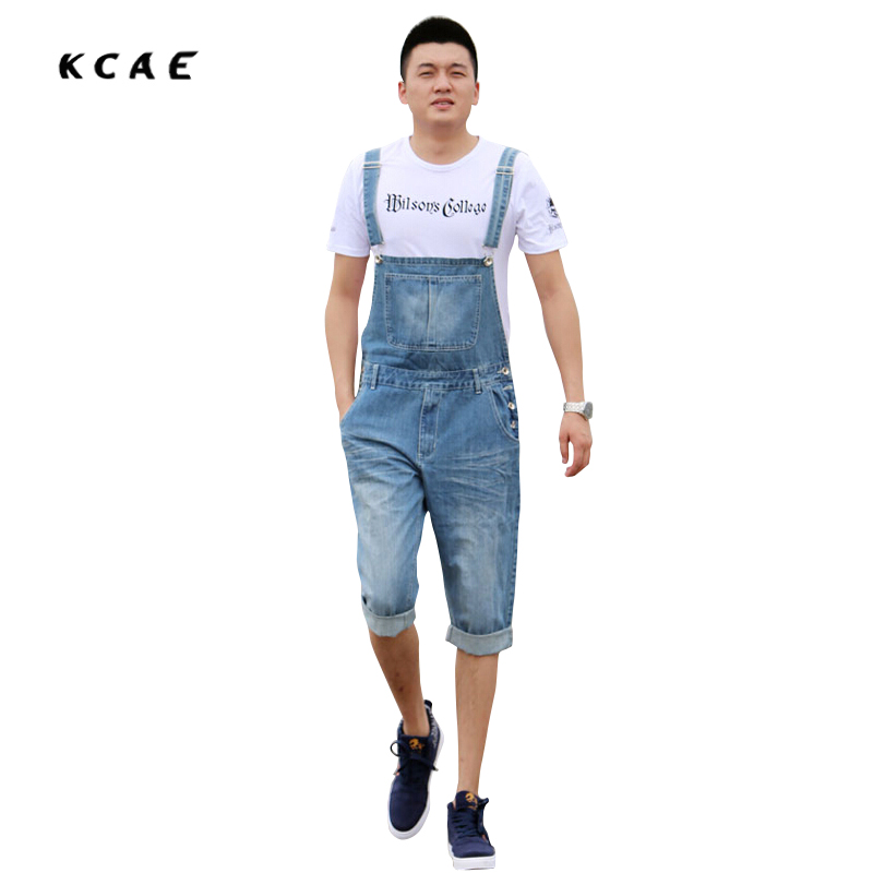 ФОТО New Arrival 2016 High Quality Men's Jeans Straps Denim Jumpsuit Mens Bib Overalls For Men Blue XS S M L XL XXL XXXL XXXXL 5XL