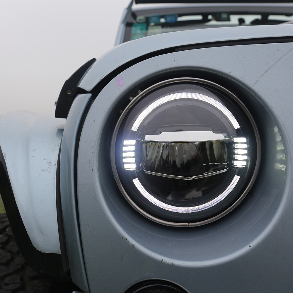 Car Lights Back To Search Resultsautomobiles & Motorcycles Led Headlight 7 Inch Hi-lo 50w 5000lms 3000lm For Moto Bike Jeep Wrangler 1997-2016 Lada Niva Offroad 4x4 Neither Too Hard Nor Too Soft