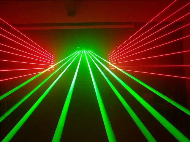 Hot sale eight eye laser lamp stage lighting wedding decoration hot sale eight eye laser lamp stage lighting wedding decoration equipment led bar ktv moving head junglespirit Gallery