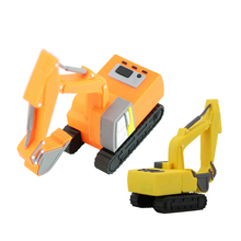 100% Full Capacity Excavator Machine USB Flash Drives PenDrive Memory Stick U Disk Creative Gift Car USB Pen Drive 8GB 16GB 32G