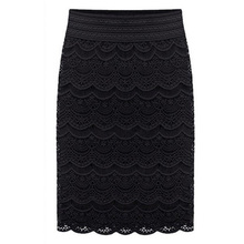 High Waist Bodycon Skirt 2019 Lace Womens Skirts Female Black Saia Curta Feminino Vintage Formal Ladies pencil skirt in wedding