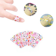 10Pcs การ์ตูน Band Aid Waterproof Breathable ผ้าพันแผล Hemostasis Adhessive Sticking Plaster Essential Aid Family Pack(China)
