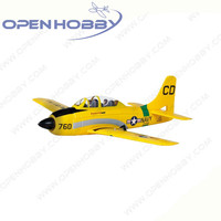 Graupner T 28 Training Aircraft 2 4GHz Fhss Elevators Ailerons RPMs For US Navy Training Aircraft