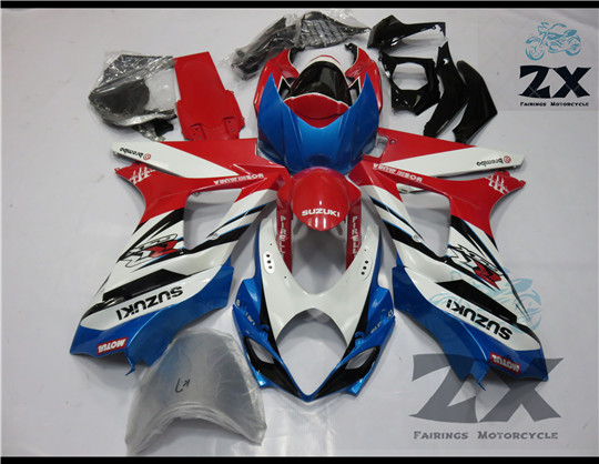 Complete Fairings For gsxr1000 GSXR1000 suzki 2007 2008   Plastic Kit Injection Motorcycle FairingS SUKs100706Complete Fairings For gsxr1000 GSXR1000 suzki 2007 2008   Plastic Kit Injection Motorcycle FairingS SUKs100706