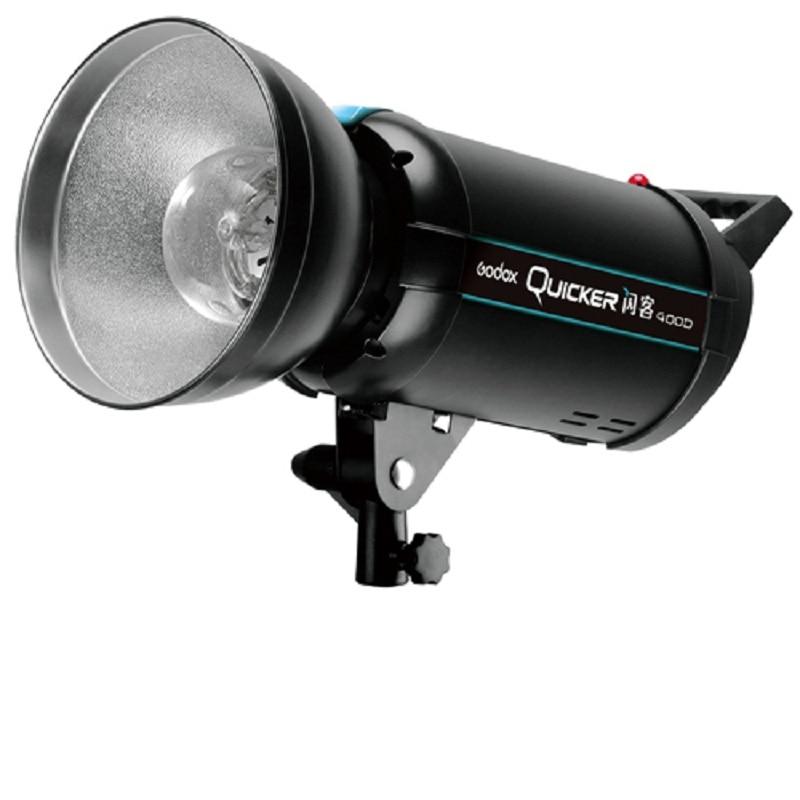 Professional Godox Quicker 400W Studio Flash Light Strobe Lamp 400D QS-400 PS018 220V