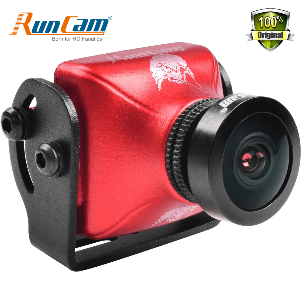 RunCam Eagle 2 800TVL CMOS 2.1mm 2.5mm 4:3 16:9 NTSC PAL Switchable Super WDR FPV Camera Low Latency runcam eagle 800tvl dc 5 17v global wdr 16 9 cmos fpv racing drone camera pal ntsc switchable