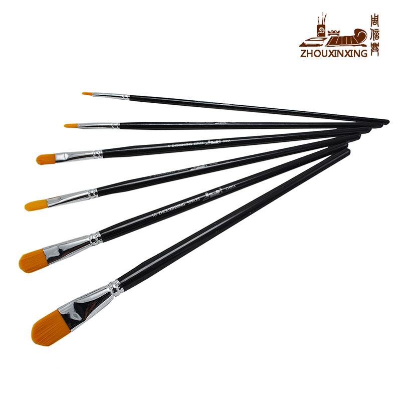 Fast Deliver Bgln 1piece Cow Ear Hair Oil Paint Brush High Quality Pincel Para Pintura Brush Pen Oil Acrylic Painting Brush Art Supplies Office & School Supplies