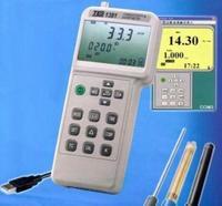 Проводимость и pH/индикатор ОВП mV TDS Удельное сопротивление концентрации солености TES 1381
