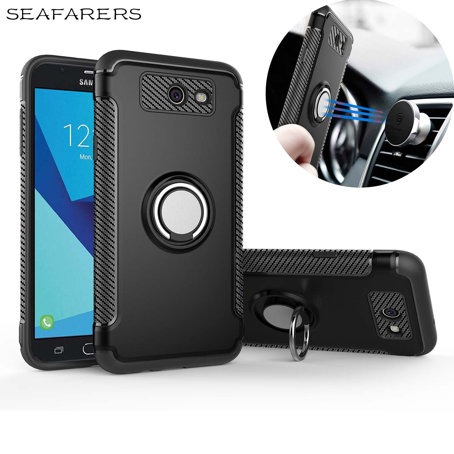 Phone Cover For Samsung Galaxy J7 V Galaxy J7 V J727v Galaxy J7 Perx J727p Case Car Holder
