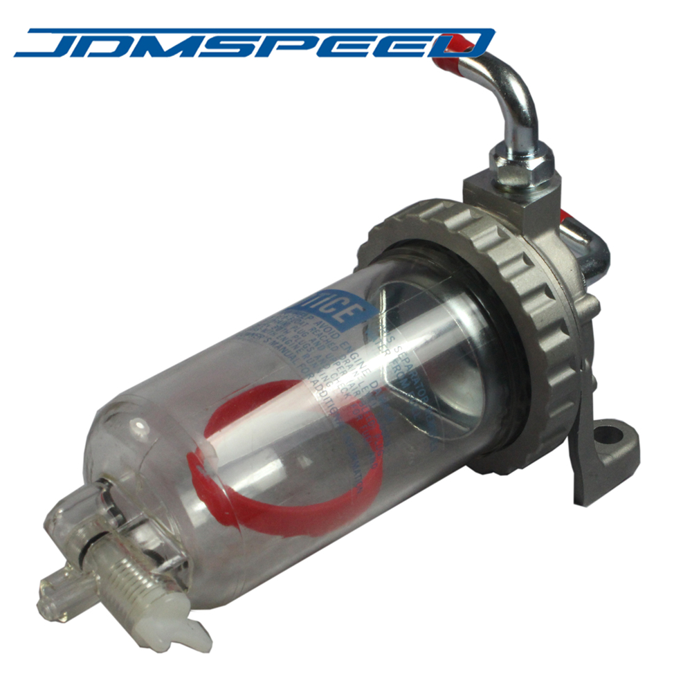 Séparateur de sédimenteur d'eau de carburant NPR9804 adapté à Isuzu 1998-2004 NPR NPR-HD NQR 4HE1 4.8L