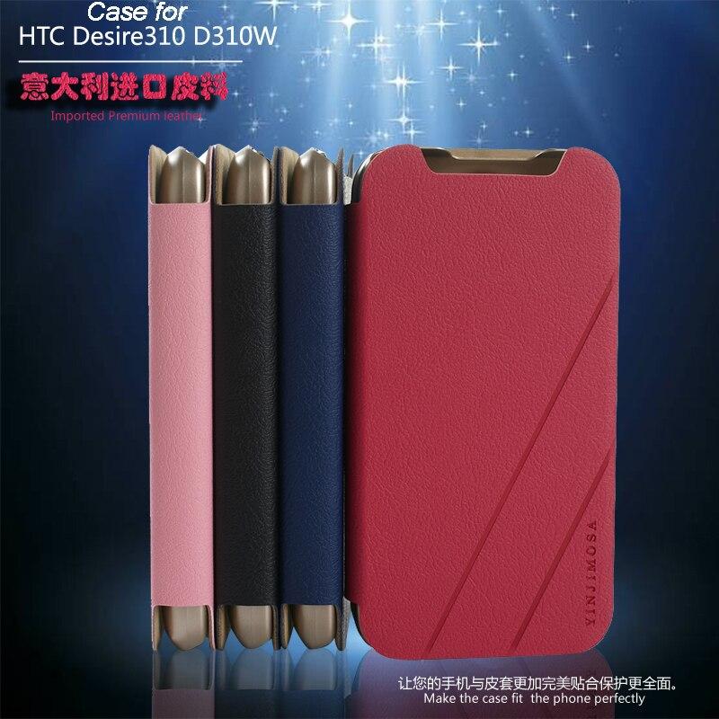 Italia di Alta Qualità di Caso Della Copertura di Vibrazione Custodia In Pelle Per HTC 310 D310W per HTC 310 D310 W Cassa Del Telefono Della Copertura 3 Colore In Azione