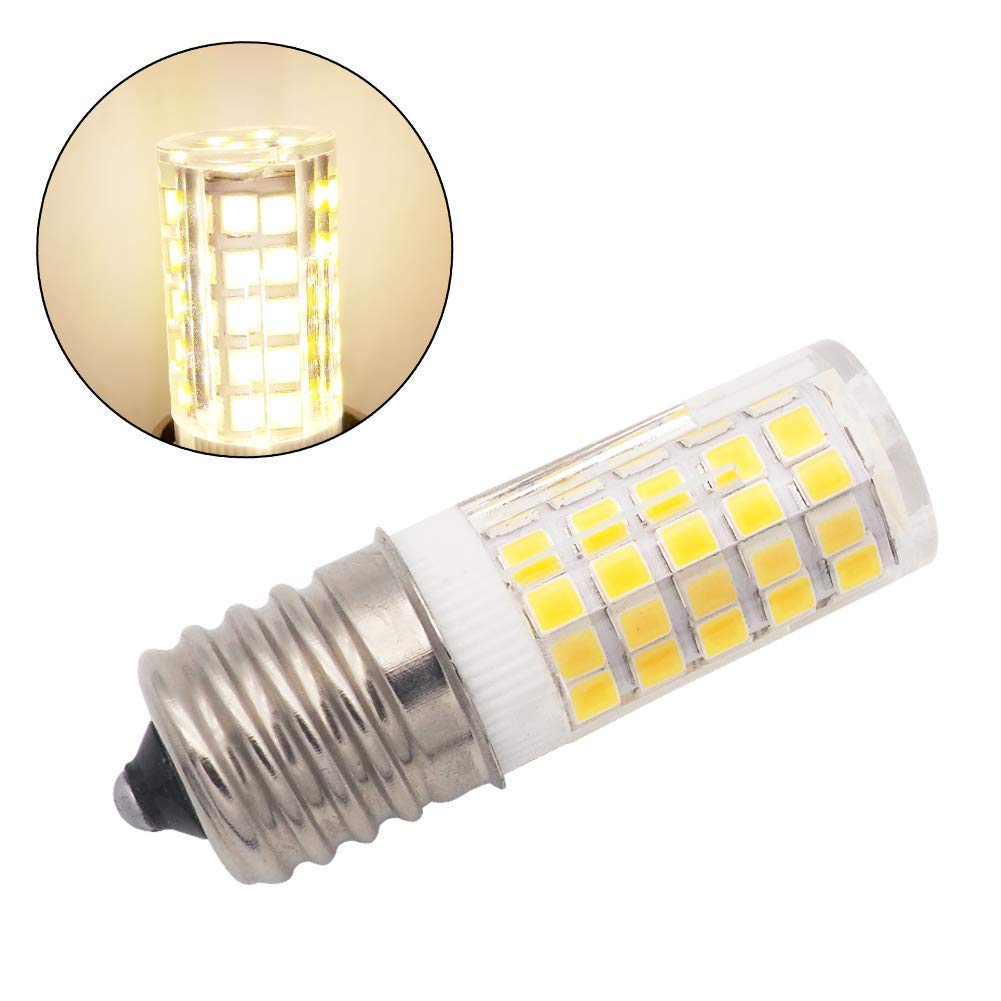 Image 5 - E17 LED Bulb Illuminator for Microwave 6W AC 110/220V 2835 SMD Ceramic Equivalent 60W Incandescent Cerami Warm/Cold White 10PACK-in LED Bulbs & Tubes from Lights & Lighting