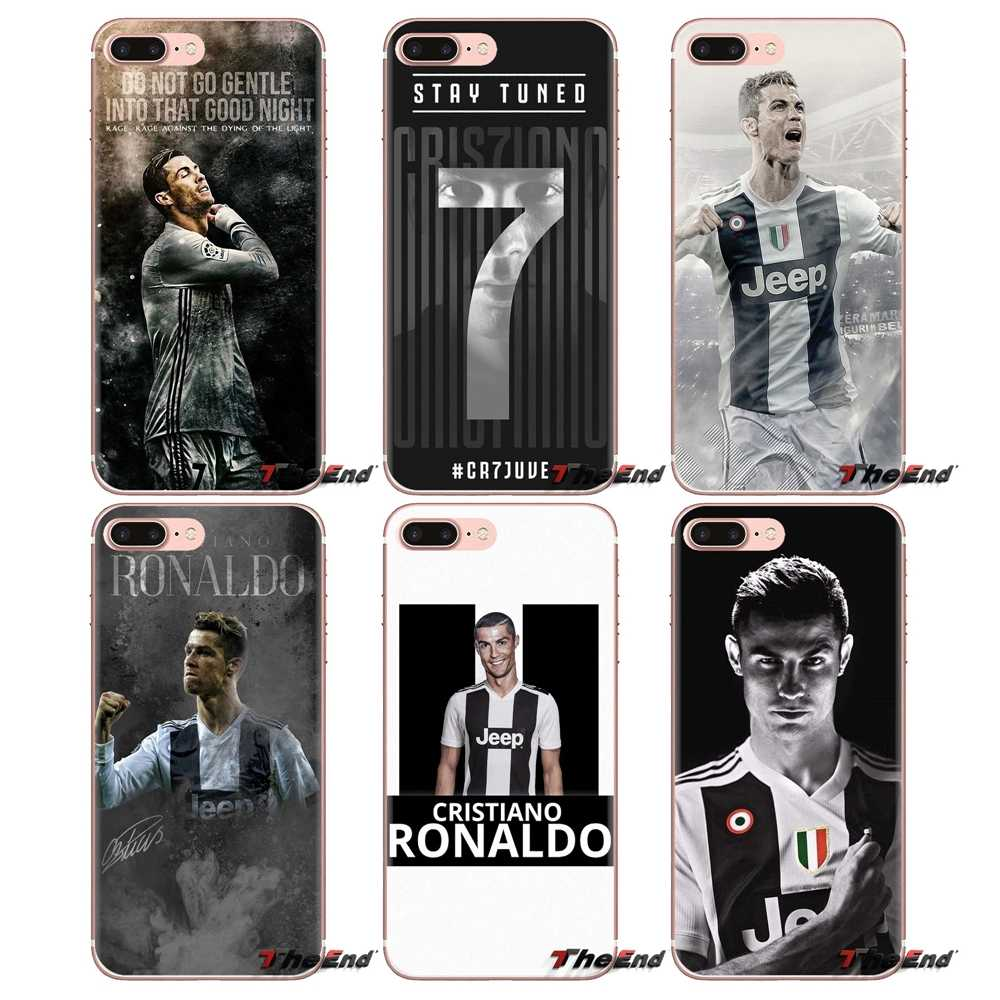 For Samsung Galaxy J1 J2 J3 J4 J5 J6 J7 J8 Plus 2018 Prime 2015 2016 2017 Cristiano Ronaldo Football Stars Cell Phone Case Cover