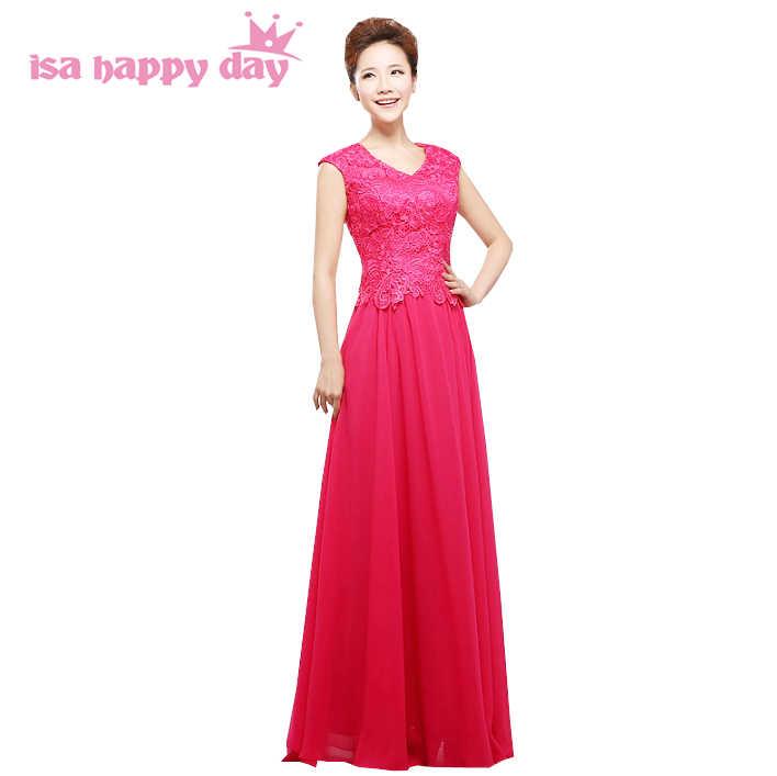 sister of the bride long plus size bridesmaid beautiful bridemaids dresses  hot pink 2019 women dress 7725183b558c