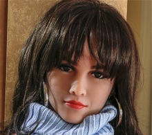 New Lifelike Oral Sex Doll Head For Silicone Love Toys Sexy TPE Heads Can Fit Body From 140cm To 170cm
