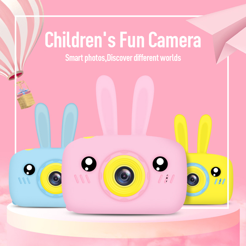 Children Take Photo Camera Full HD 1080P Portable Digital Video Camera 2 Inch LCD Screen Display Children ForKid Learning Study(China)