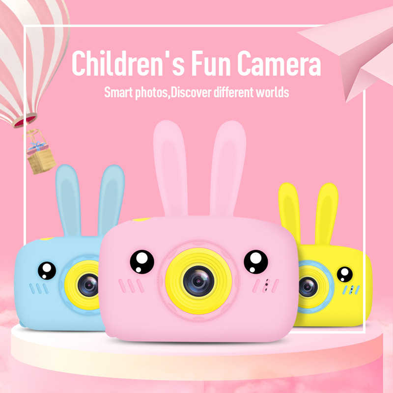 Children Take Photo Camera Full HD 1080P Portable Digital Video Camera 2 Inch LCD Screen Display Children ForKid Learning Study
