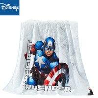 Marvel captain america thin comforter cartoon summer cotton quilt cover children bedroom decoration soft blanket boys bedspread