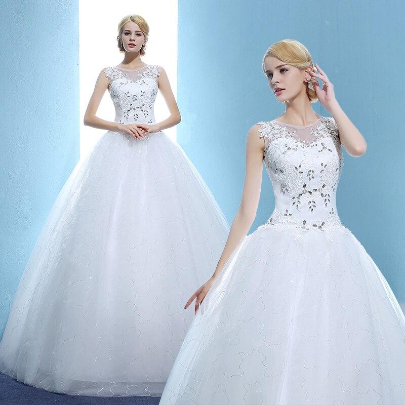 Real Photo 2017 Elegant Luxury Lace Wedding Dress Vestido Vintage Bandage Plus Size Ball Gowns arabic wedding dresses
