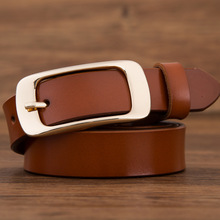 Womens' High Quality 100% Genuine Leather Belt