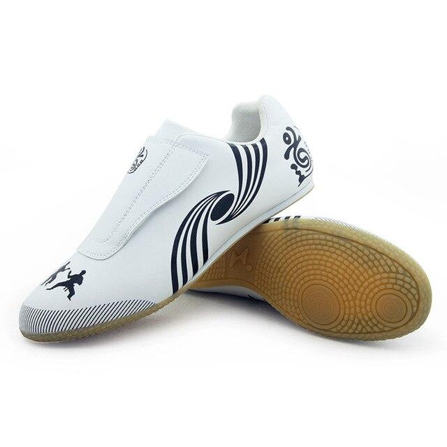 online store bb196 90fc0 Taekwondo chaussures respirant résistant à l usure kickboxing kung fu  professionnel tae kwon do arts