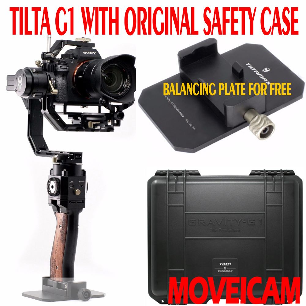 TILTA G1 GR-T02 Gravity Handheld 3-Axis Gimbal Stabilizer load 3KG for SONY Canon Mirrorless DSLR Camera VS Zhiyun Crane latest 2017 version zhiyun crane 3 axis handheld stabilizer gimbal for dslr canon sony a7 cameras load 1800g