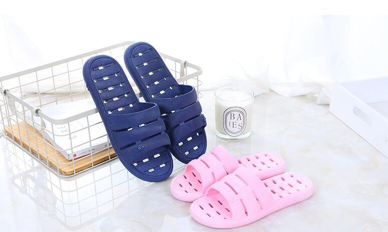 2018 pantoufle chaussures légères dessus de couleur unie qualité hommes grande taille nouveauté classique pantoufle 027