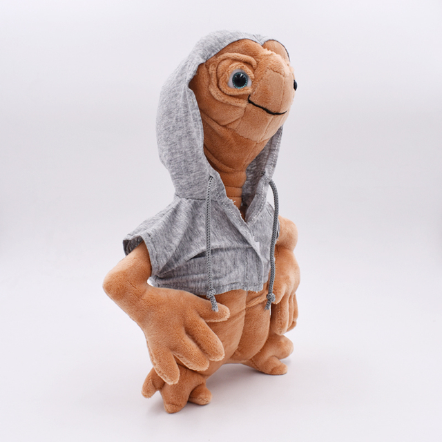 25CM-E-T-Alien-Plush-Doll-Toy-ET-the-Extra-Terrestrial-Doll-With-Cloth-High-Quality