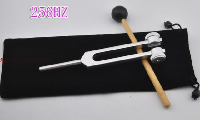 Frequency 256Hz nervous system testing tuning fork hearing test tuning fork Aluminum-magnesium alloy frequency 256Hz