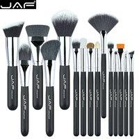 JAF Professional Makeup Brushes 15 Pcs Make Up Brush Set High Quality Make Up Brush Kit