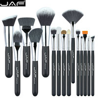 JAF Professional Makeup Brushes 15 Pcs Make Up Brush Set High Quality Make Up Brush Kit