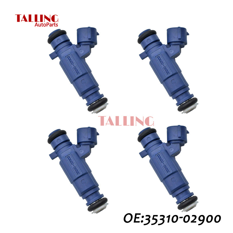 ANLILU 4pcs lot Fuel Injector For Hyund ai i10 2008 2015 OEM 35310 02900 3531002900 Free