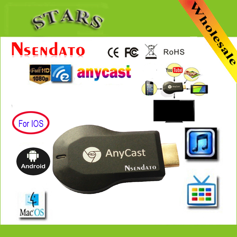 128M Anycast m2 ezcast Miracast Any Cast Wireless DLNA AirPlay Mirror HDMI TV Stick Wifi Display Dongle Receiver for IOS Android(China)