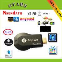 128 M Anycast m2 ezcast Miracast cualquier fundido inalámbrico DLNA AirPlay espejo HDMI TV Stick Wifi Display Dongle receptor para IOS Android