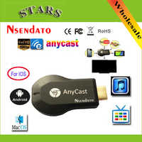 128 m Anycast m2 ezcast Miracast Qualsiasi Cast Wireless DLNA AirPlay Specchio HDMI TV Stick Wifi Display Dongle Ricevitore per IOS Android