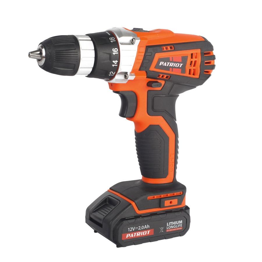 Cordless drill screwdriver PATRIOT BR 101Li The One недорого