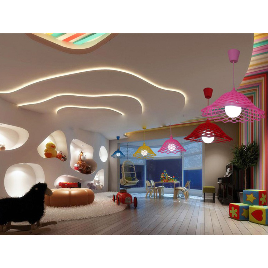18x32x100cm Silicone Hollowed Pendant Light Home Decoration Lighting