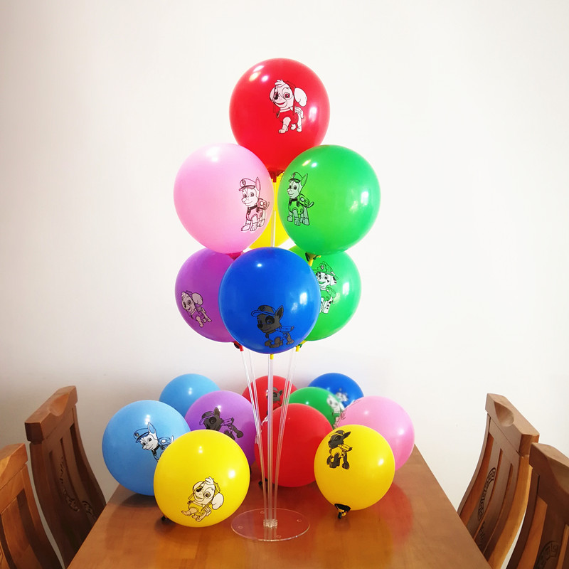 New 8 pcs /lot Dogs Balloon Happy Birthday Party Supplies Helium Balloons Toys For Kids