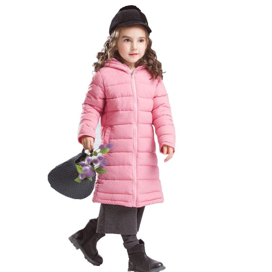 European Jacket For Girls Winter Fashion Pink Hooded Long Coat Kids Pretty Cotton Padded Jacket Children 2017 Autumn Girls Coat громова н внешнеторговый контракт contracts in foreign trade учебное пособие 2 е издание исправленное