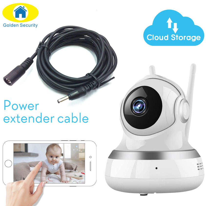 Golden Security Cloud Storage PTZ IP Camera WiFi Wireless Camera Surveillance WiFi 720P Security Camera CCTV Camera Baby Monitor 826 smart wireless ptz cloud camera